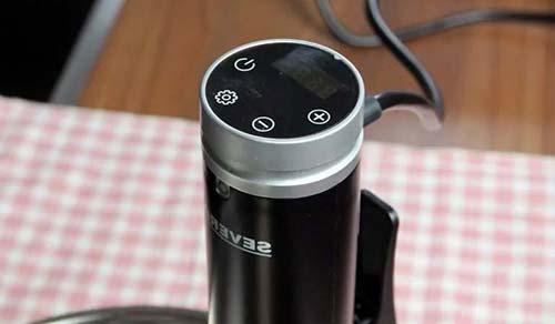 Severin SV 2450 Tecnología de Circulación del Agua – panel de control simple