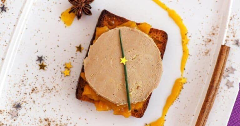 Deslumbra a tus invitados con tostadas de pan de jengibre, foie gras y chutney de mango