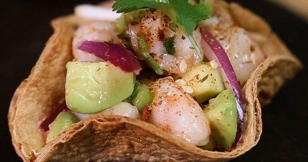 Ceviches de camarones, aguacate con mezcla mexicana de Ducros, ¡deliciosos bocados que sorprenderán a tus invitados!