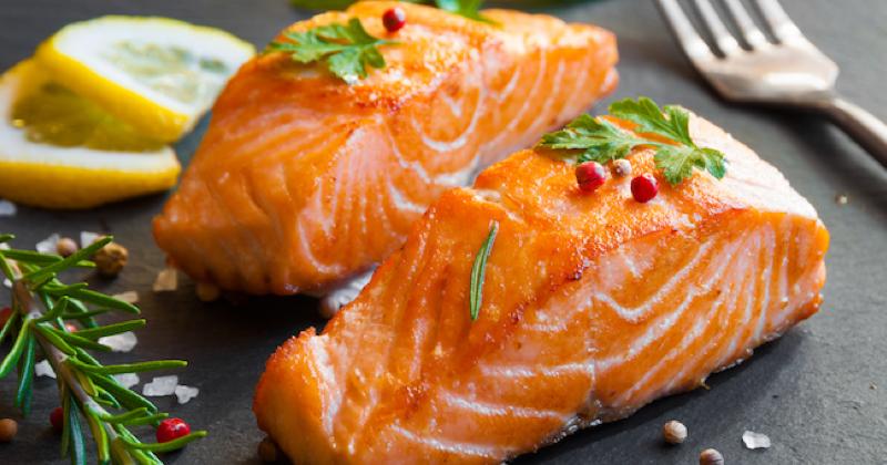 Filete de salmón al limón