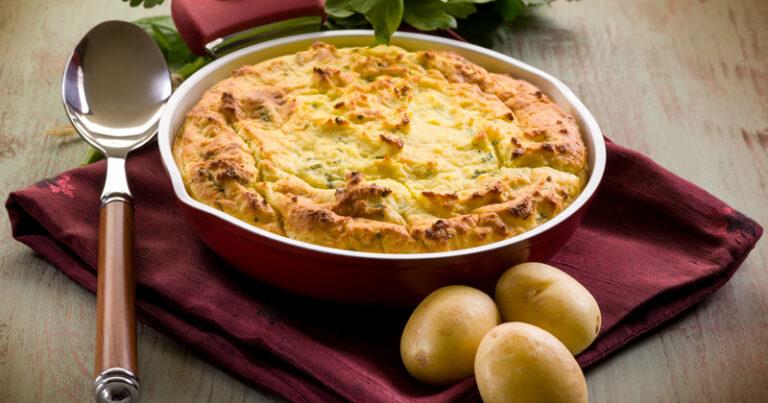 Gâteau de pommes de terre au parmesan